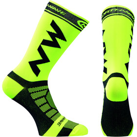 Northwave Extreme Light Pro Chaussettes, yellow fluo-black